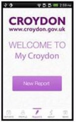 Croydon app pics