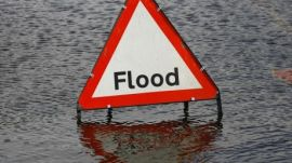 Flood sign 2