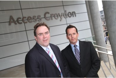 """Is """"Access Croydon"""" a euphemism? Councillor Jason Perry and Croydon's interim CEO, Nathan Elvery, don't seem to have bothered following the council's code of conduct"""