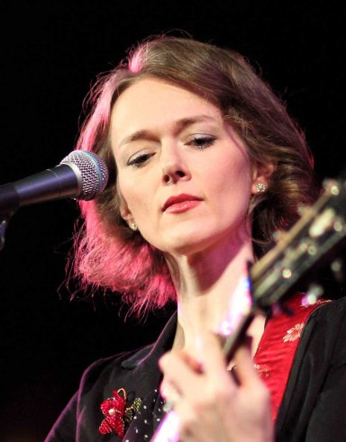 Laura Cantrell: brought a touch of something different to the Arnhem Gallery