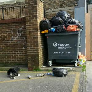 The battle for a cleaner Croydon has not yet impressed Peter Staveley