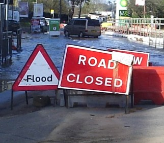 There could remain a risk of flooding throughout parts of Croydon for months to come