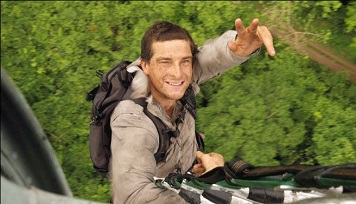 Chief Scout Bear Grylls, who is dropping in on Croydon next month