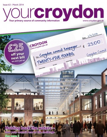 "The latest issue of Your Croydon: a ""neutral"" council publication, or straight from Tory party HQ?"