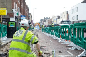 Dis-Connected Croydon has been able to publish photographs of the roadworks on South End, but has overlooked posting contact details