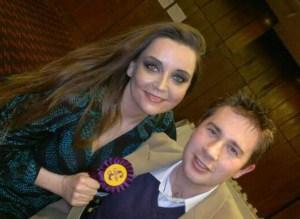 Elizabeth Jones, and UKIP friend: strongest challenger in Croydon South?