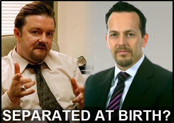 Separated at birth - Brent and Elvery