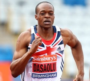 James Dasaolu: European 100m champion