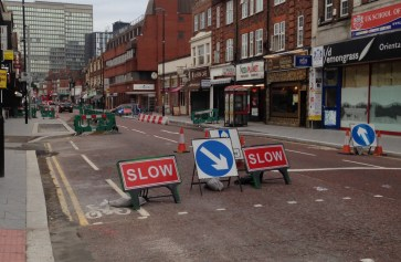 More road works and closures are coming to South End next week