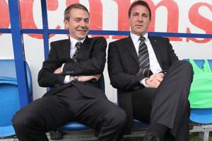 Moody and Mackay: not re-united at Palace