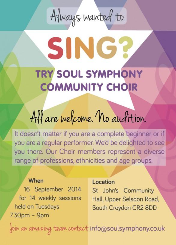 Soul Symphony August 2014 flyer