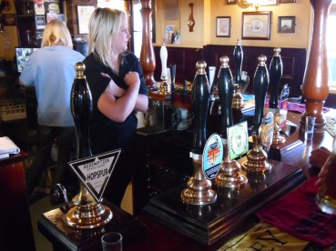 The Hope: a pub which delivers on expectations if you're seeking a wide selection of real ales