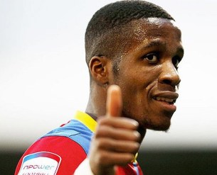 Happy days: Zaha's got cause for the thumbs up today