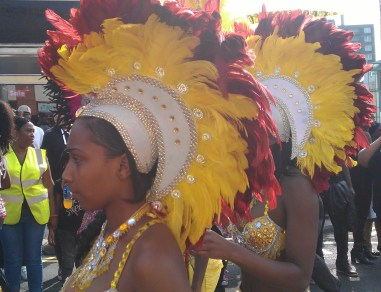 Colourful entertainment was the order of the day at the Thornton Heath Festival last Sunday