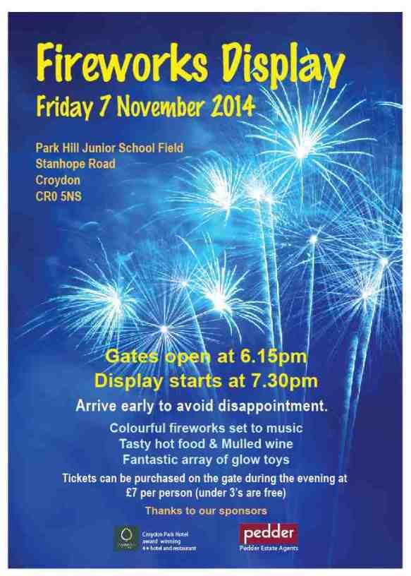 Fireworks 2014 External Poster