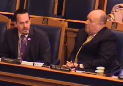 Nathan Elvery, the council CEO, was appointed by council leader Tony Newman (right). But if that appointment wasn't done openly and fairly, how can anyone trust the council's Openness and Fairness Commission?
