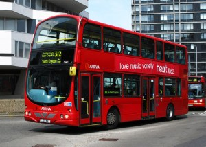 312 bus East Croydon