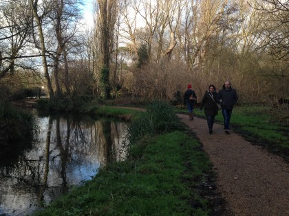 Following the River Wandle can take you on a 12-mile journey through the history and nature of south London