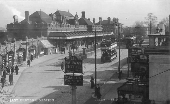 East Croydon Station in 1898