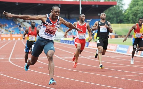 Europe's fastest man, Croydon Harrier James Dasalou, is looking to a flying start in 2015