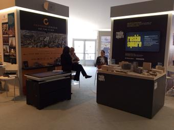 Day 1 at MIPIM 2015 in Cannes. Note how busy the Connected Croydon (and Ruskin Square) stands are...