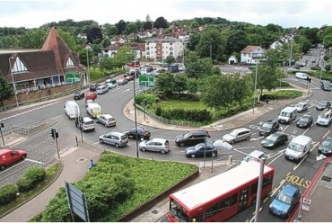 Purley Cross: how would a 16-storey block be out of keeping with this?