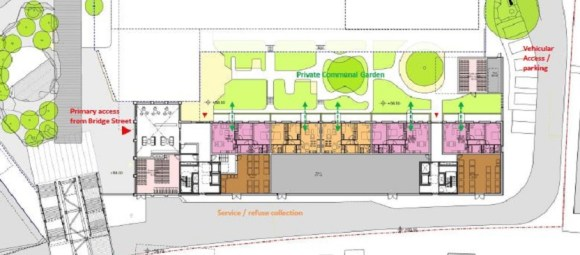 The exclusive garden space: will this be open to all residents in Vita? PLaces for People refused to answer our questions