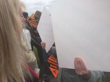 This is how Nick Clegg's kind and considerate LibDem supporters behaved towards Emily Brothers, who is blind