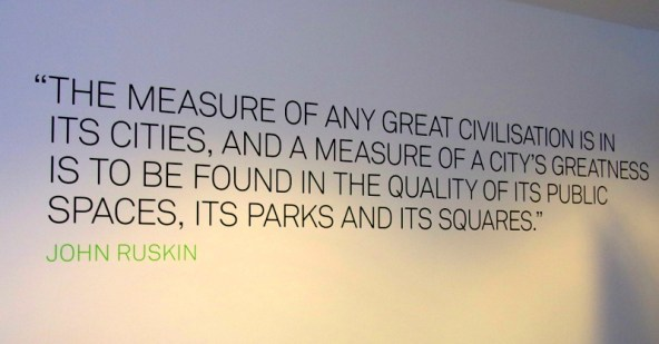 What the developers of Vita on Ruskin Square have failed to appreciate is that John Ruskin would have had nothing to do with the hypocrisy, greed