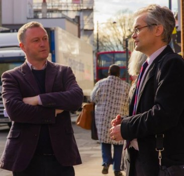 Reed - who is defending a 11,000 majority in his Lambeth South constituency - discussed library matters with Robert Gibson