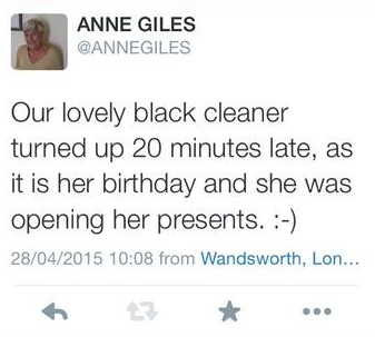 How Ane Piles sought to justify her racist traveller tweet...