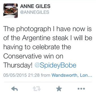Anne Giles isn't counting her chickens exactly