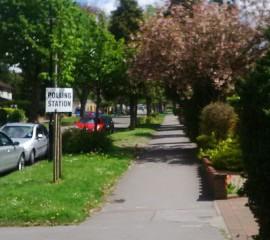 Croydon polling station
