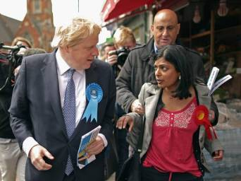 Flashpoint: there was no holding Rupa Huq back when it came to winning Ealing votes