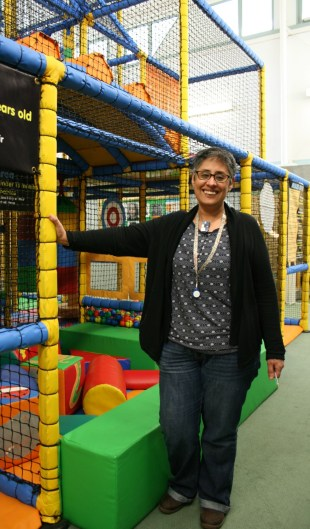Triangle manager Rajinder Nagra: the soft play area will be at the heart of the new centre