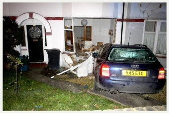 The outcome of one car crash along Grange Road last year