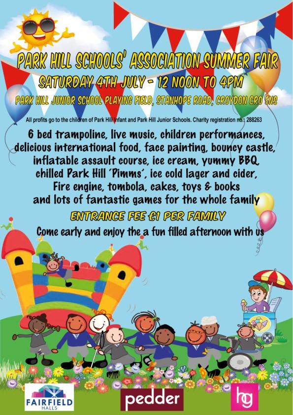 Summer fair poster