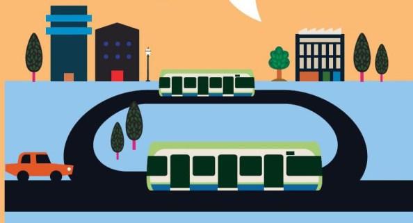TfL tram graphic