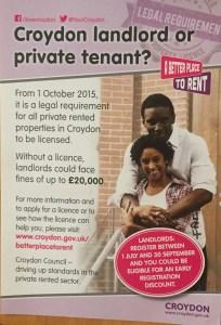 Landlord Licensing leaflet