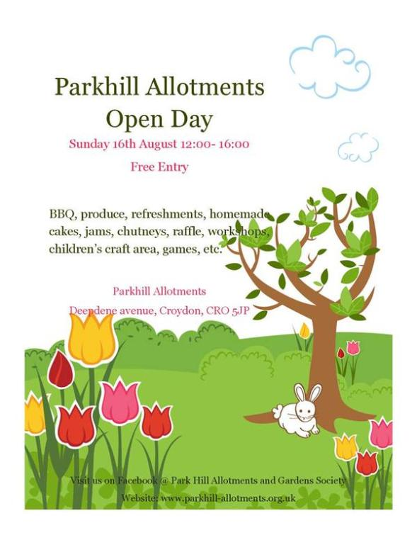 Parkhill Allotments open day
