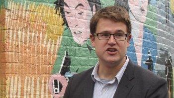 Seeking support: Lambeth councillor Alex Bigham