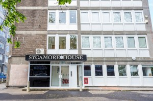 "Sycamore House: ""slums of the future"", according to the housing chief who is now housing the homeless there"