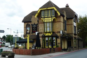 The Waddon Hotel: the historic pub is under threat from TfL's roads scheme