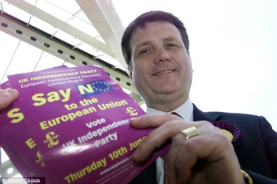 Gerard Batten: anti-immigration policies copied from the BNP