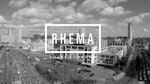 How the Rhema Church promotes its services at the Fairfield Halls
