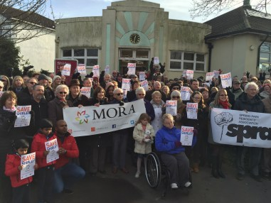 Down with this sort of thing: well-organised and vocal residents associations have banded together to oppose new housing in Shirley