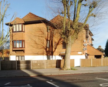 Some of the homes at Fiveways which seem likely to be sacrificed for the