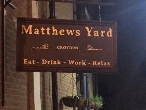 Matthew's Yard