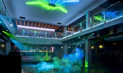 """The vast basement area in Luna offers a """"premium bar and night club"""", acording to the owners"""