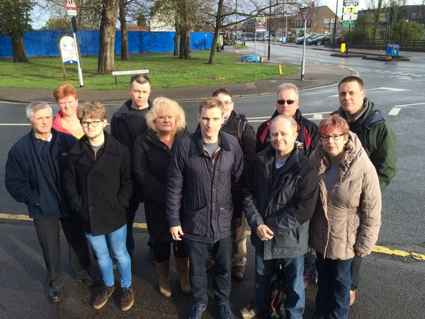 Croydon South MP Chris Philp stands aimlessly in the middle of a road on Easter Sunday